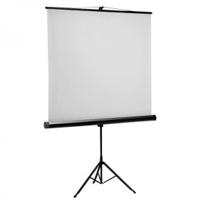 Platno za projektor 180x180 cm sa stalkom SBOX PSMT-100
