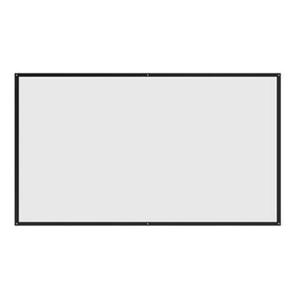 Platno za projektor 221x124 cm (16:9) SBOX FPS-100