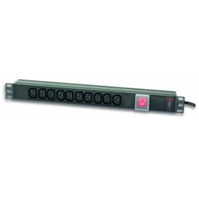 TECHLY RACK POWER STRIP 10C