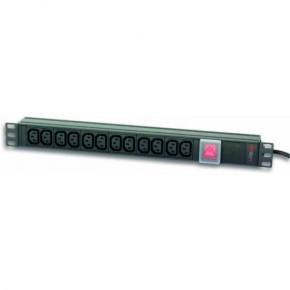 TECHLY RACK POWER STRIP 12C