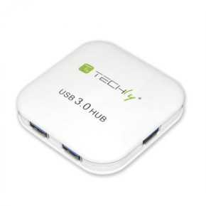 TECHLY USB 3.0 HUB 4 PORTS White