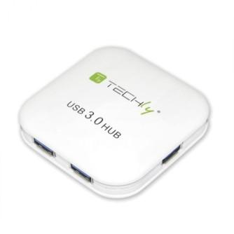 USB 3.0 razdjelnik sa 4 ulaza, hub, Techly