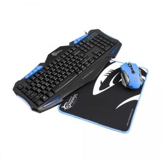 Gaming set tipkovnica, miš i podloga za miš White Shark GC-3101 CHEROKEE