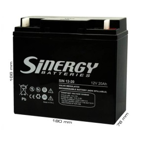 UPS Baterija SINERGY 12V / 20Ah