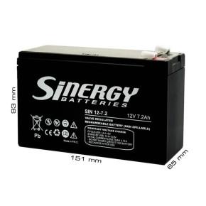 UPS Baterija SINERGY 12V / 7.2Ah