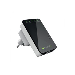 WIRELESS REPEATER - ACCESS POINT  i  ROUTER 300N DUAL LAN - TECHLY