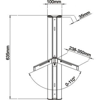 Zidni nosač SBOX DRS-301