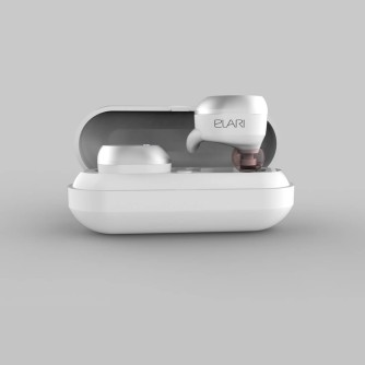 Bluetooth slušalice sa mikrofonom, bijele,  Elari Nanopods