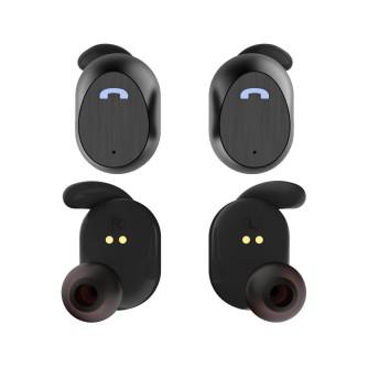 Bluetooth slušalice sa mikrofonom, crne,  Elari Nanopods