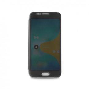 Preklopna torbica, futrola za Samsung Galaxy S6 Edge, prozirna, Puro Sense