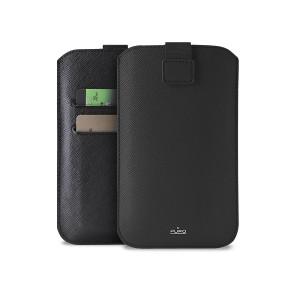 "Univerzalna torbica za mobitele do 4,7"" L, crna, Puro Slim Essential"
