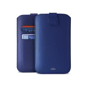 "Univerzalna torbica za mobitele do 4,7"" L, plava, Puro Slim Essential"