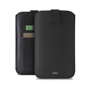 "Univerzalna torbica za mobitele do 5,1"" XL, crna, Puro Slim Essential"