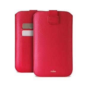 """Univerzalna torbica za mobitele do 5,1"""" XL, crvena, Puro Slim Essential"""